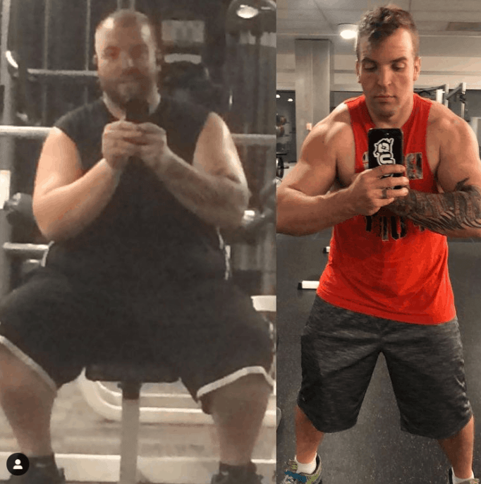 Митч Фульман опубликовал фотографию в Instagram, на которой показано его невероятное преобразование, которое помогло ему победить диабет.