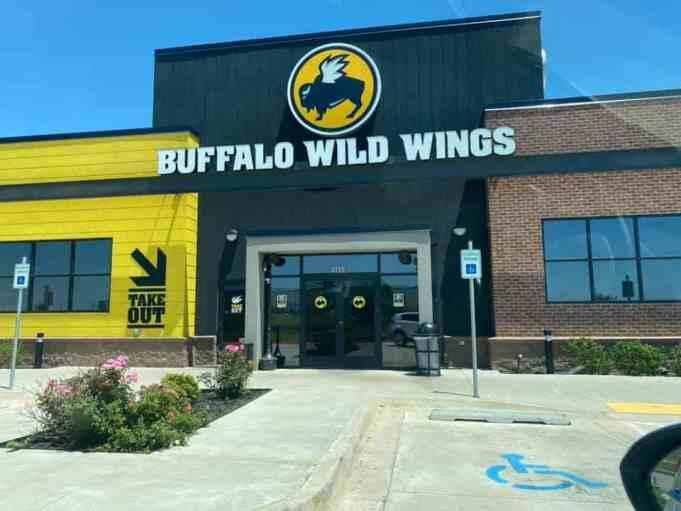 The facade of a Buffalo Wild Wings