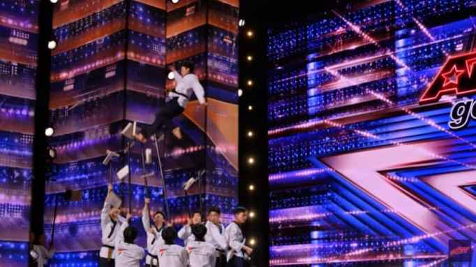 World Taekwondo Demonstration Team on America's Got Talent , one of the best free auditions on the show.