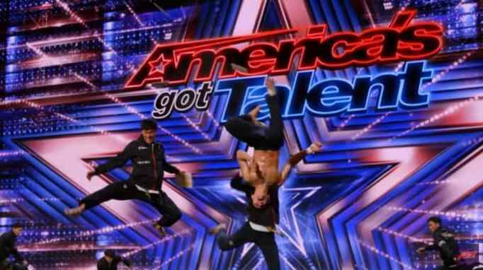 World Taekwondo Demonstration Team on America's Got Talent's free auditions.