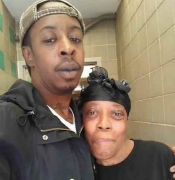 Jermaine and his mom Sheila
