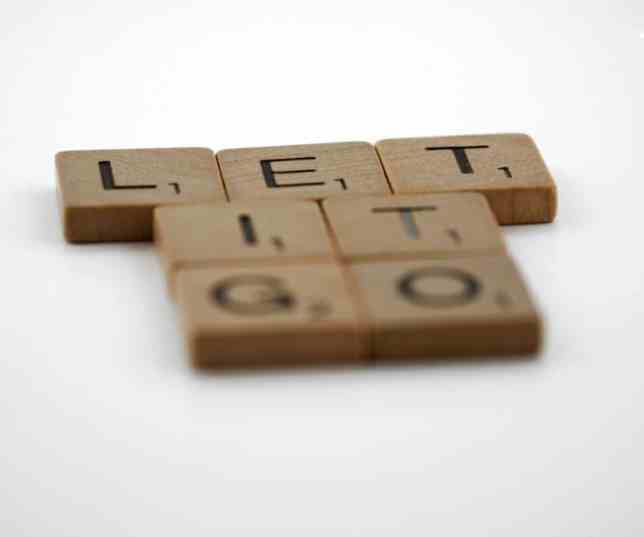 Words: Let it go