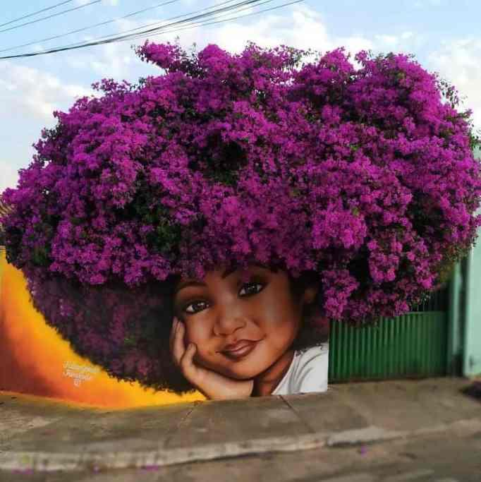 A mural by Fábio Gomes Trindade