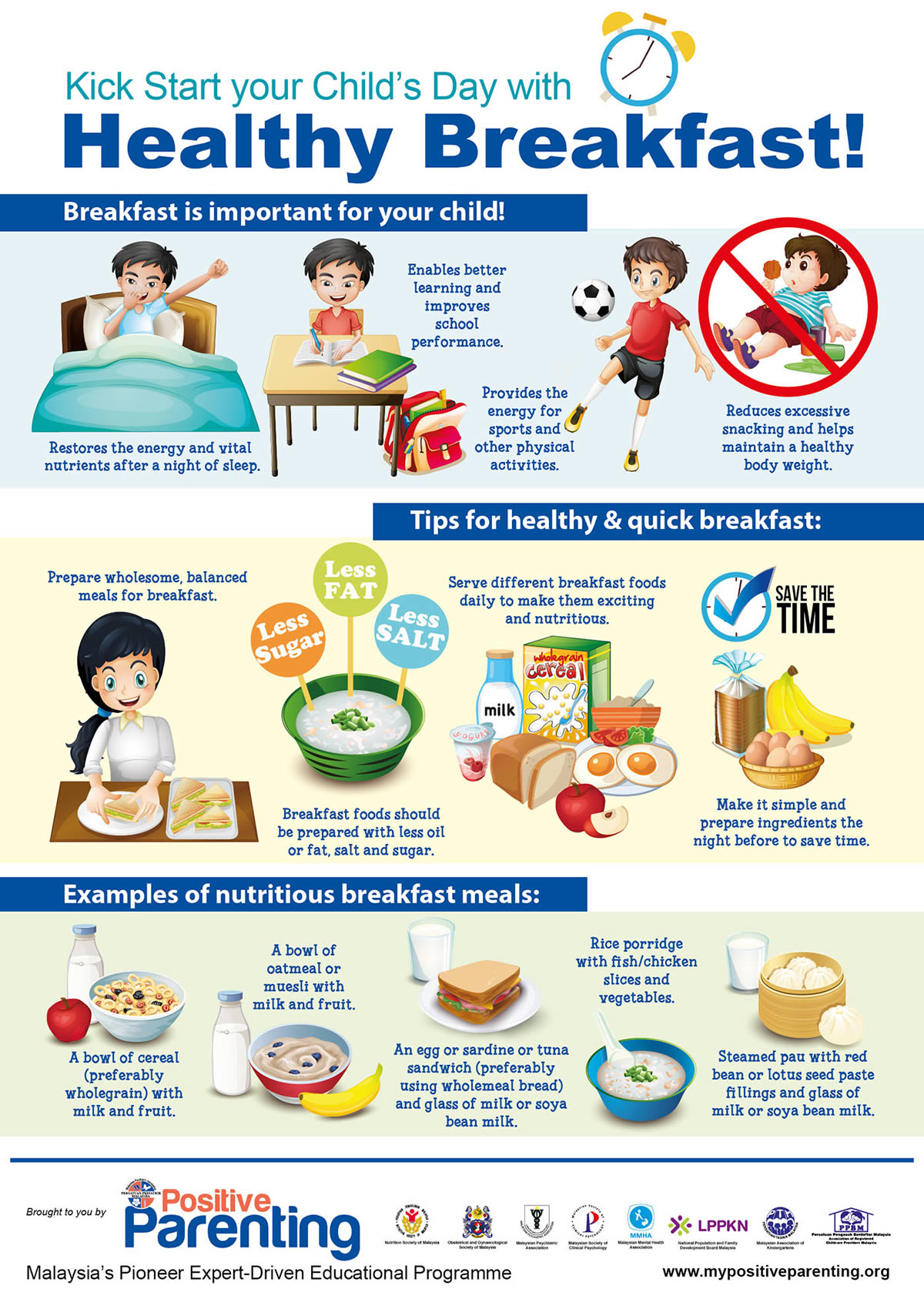 Kick Start Your Child S Day With Healthy Breakfast