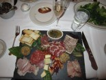 Antipasto dinner, Las Vegas Nevada, January 2012