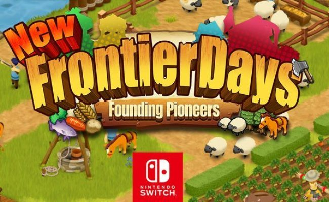 Frontier Days Founding Pioneers Town Building Game For
