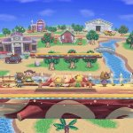 Smash Bros Animal Crossing Stage