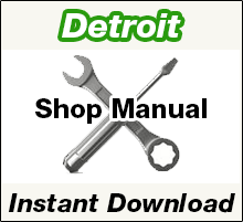 Detroit Diesel Shop Repair Service Manual PDF Download