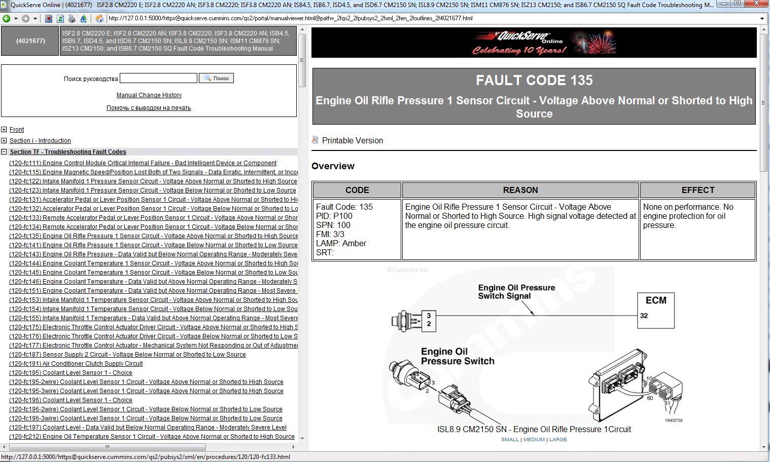 Cummins Celect System L10, M11, N14 Troubleshooting & Repair