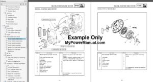 Yamaha EF4000DE, YG4000D Generator Service Manual