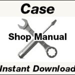 Case 586G, 588G Series 3 Forklift Service Repair Manual