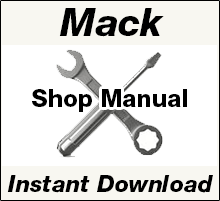 Mack Repair Workshop Shop Service Manual PDF Download
