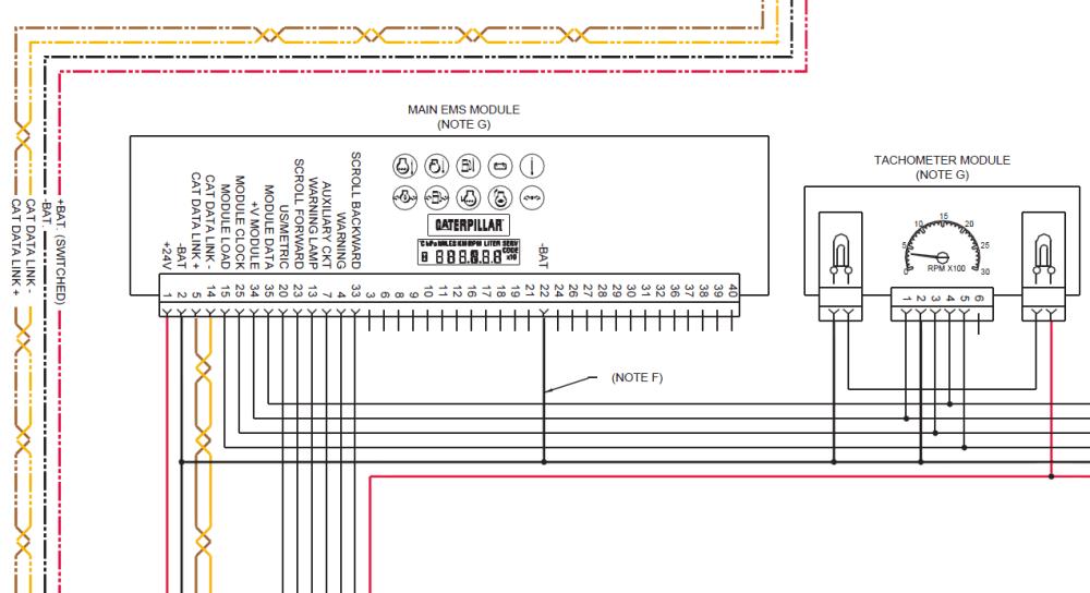 medium resolution of cat wiring harnes diagram for generator
