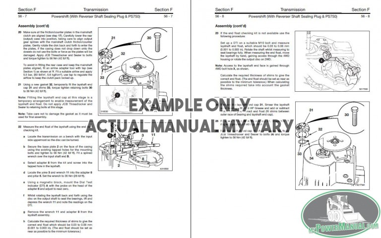 Case 330 Articulated Dump Truck Service Manual