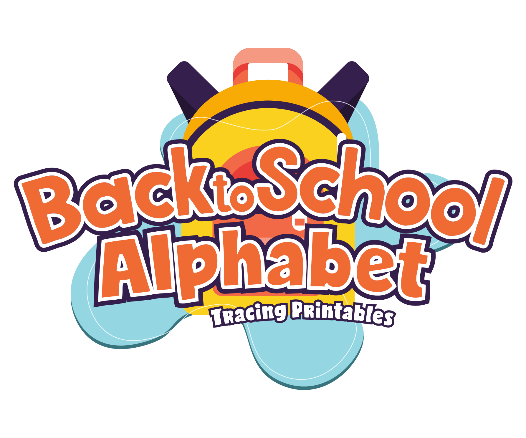 Back To School Alphabet Letter Tracing Pack For Preschoolers