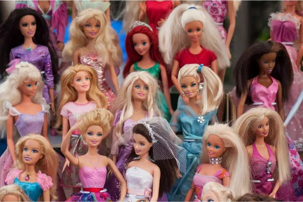 What Is Barbie Doll Hair Made Of