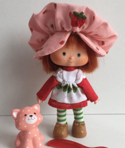 Strawberry short cake baby