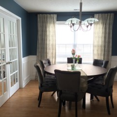Kitchen Tables Round How Much Does A Remodel Cost Dining Room, Before & After