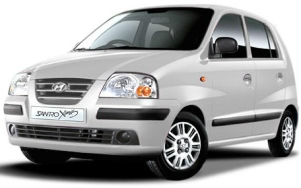 Santro Used Car Price