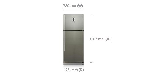 Samsung Refrigerator RT54FBPN Price in Pakistan 540L Medium Large