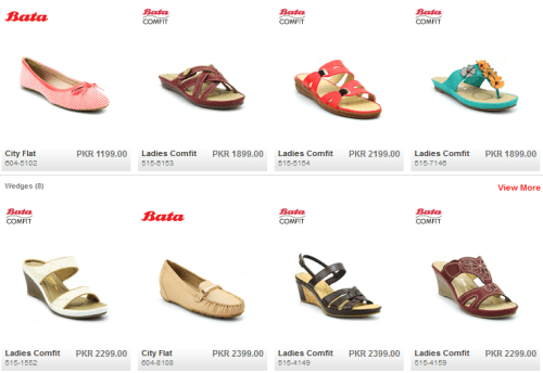 BATA Shoes Collection 2016 For Womens Ladies Girls With Price in Pakistan