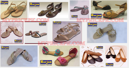 Borjan Womens Ladies Girls Shoes Collection 2017 With Price in Pakistan