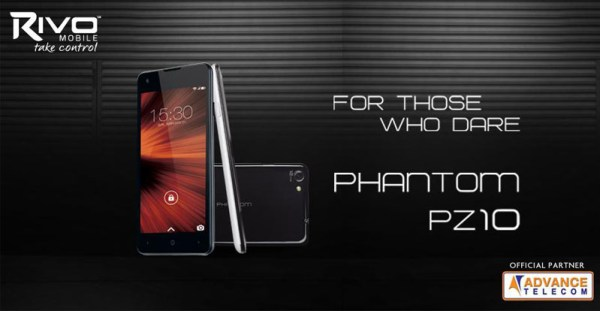 Rivo Phantom PZ10 Mobiles Prices in Pakistan Specs Features Pictures