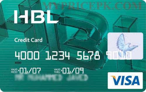 How to Get A Credit Card in Pakistan Visa Card by HBL Habib Bank Limited