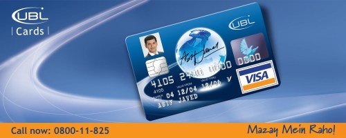 How to Get An UBL United Bank Limited Credit Card or Visa Card in Pakistan