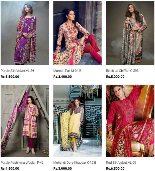 Gul Ahmed Silk For Winter Collection 2016 Price In Pakistan New Arrivals Reviews