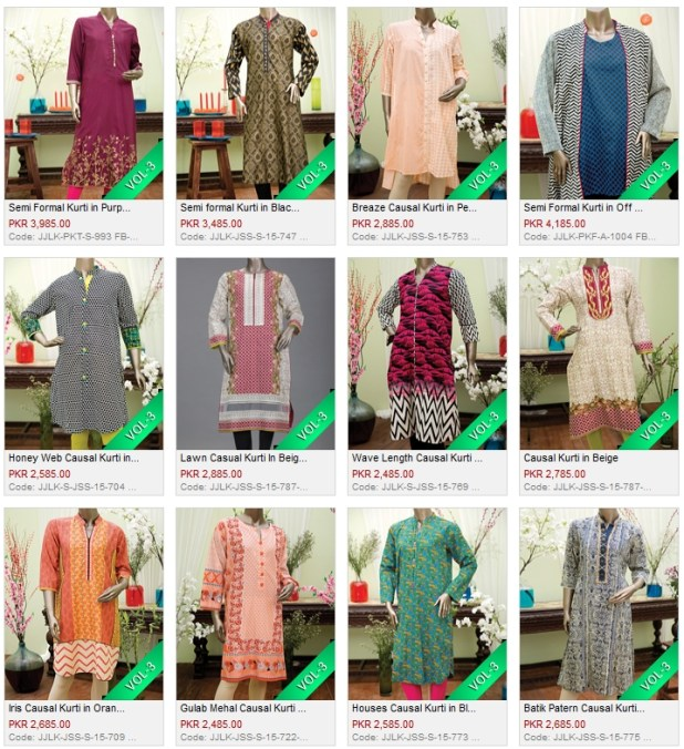Junaid Jamshed J. Winter Kurti Collections 2016 Price In Pakistan Designs Reviews