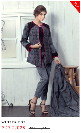 Alkaram Winter Khaddar Ladies Designs of Dresses with Prices Collection of New Arrival