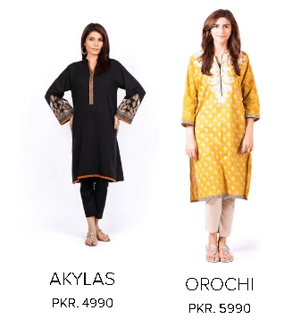 Sana Safinaz Embroidered and Printed Ladies Dresses Collection For Winter Season with Price
