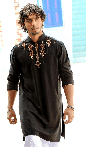 Kurta Collections By Munib Nawaz Designer Colors Rats Pictures