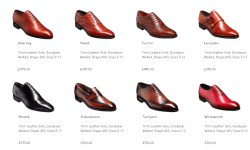 Barker Black Anniversary Collection Summer Shoes Price Colors Images