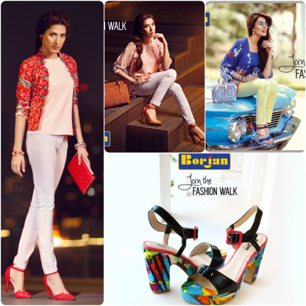 Borjan Summer Shoes Collections For Girls & Women's New Arrivals 2017