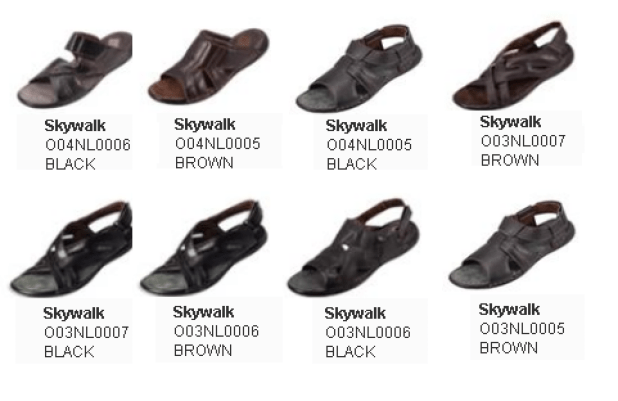 Borjan Skywalk Men's Shoes For Summer 2016 Price and Pics New Colors Designs