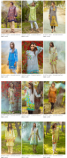 Digital Viscose and Dobby Ladies Summer Dresses By Alkaram New Designs and Price