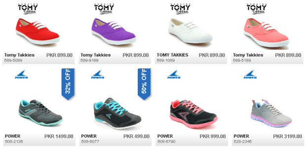 Bata Ladies Summer Shoes Collection 2016 Power and Tomy Takkies New Design with Price