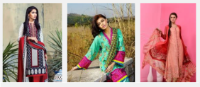 Latest Summer Lawn Dresses For Girls