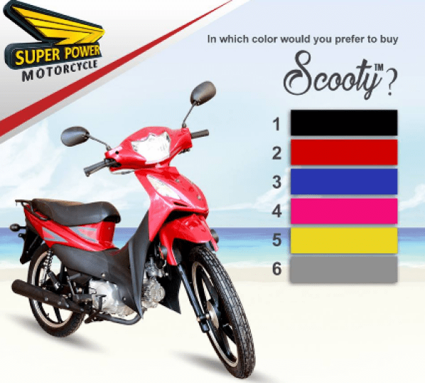 Super Power Scooty SP 70cc Launched Price In Pakistan Features Specs Colors Reviews