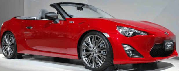 Toyota FT-86 Open Concept New 2017 Model Price Release Date Shape Pictures