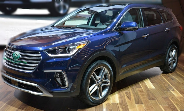 Latest Hyundai Santa Fe Car New Model Rates Price Features Release Date Technical Specs