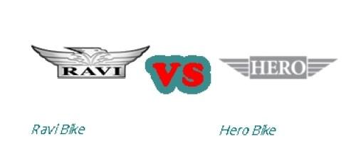 Ravi Motorbike New Model 2016 vs Hero Motorcycle New Model 2016 Price Shape Specs Feature