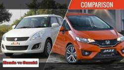 Cars Comparison: Honda Car New Models 2021 VS Suzuki New Models 2021
