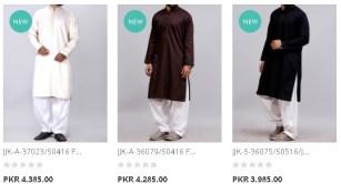 Junaid Jamshed Gents Heavy Embellished Special Kurta J. For Winter Arrival Price