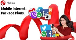 Mobilink Jazz 3G 2G Packages with Volume MBs and GBs Monthly 15 Days Daily Weekly Subscription