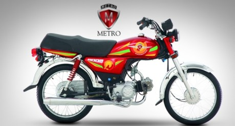Metro MR 70 Jeet Model 2018 Price in Pakistan Fuel Average Shape Picture Specs Features | Bike Price in Pakistan