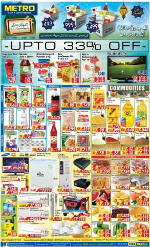 Metro Cash  Carry Offers Sales  Deals up to 33 in