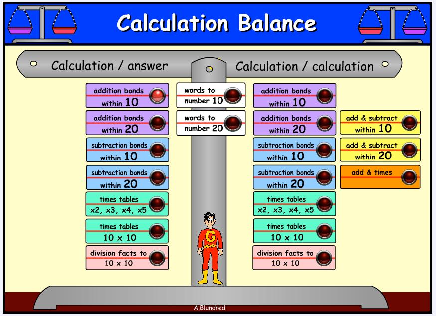 Calculation Balance